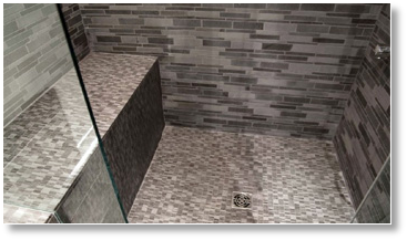 Aménagement salle de bain petite surface.